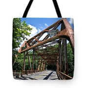 Iron Bridge Tote Bag