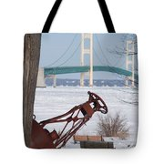 Iron Buoy And Mighty Mac Tote Bag