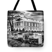 Iron County Courthouse IIi - Bw Tote Bag