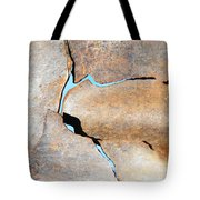 Iron Curtain Cracking Tote Bag