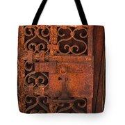 Iron Door Tote Bag