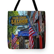 Iron Door Saloon - The Oldest Saloon In California Tote Bag
