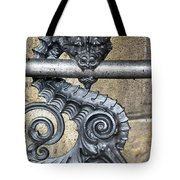 Iron Dragon Tote Bag