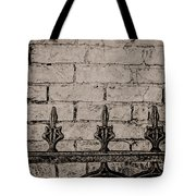 Iron Fence - New Orleans Tote Bag