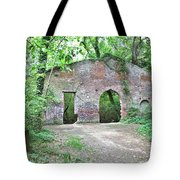 Iron Foundry Ruins Tote Bag