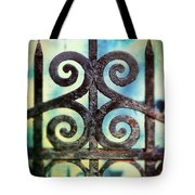 Iron Gate Detail Tote Bag
