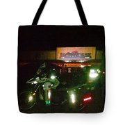 Iron Horse Lodge Evening Tote Bag