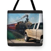 Iron Horsepower Tote Bag