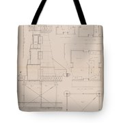 Iron Lighthouse Tote Bag