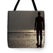 Iron Man Waiting For Sunset 1 Tote Bag
