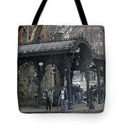 Iron Pergola Pioneer Square Tote Bag