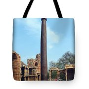Iron Pillar Of Qutb Tote Bag