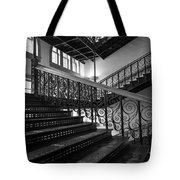 Iron Staircases Tote Bag