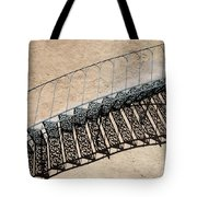 Iron Stairs Shadow Tote Bag