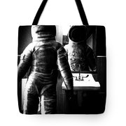 The Astronaut And The Bathroom Tote Bag