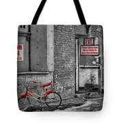 Irony In The Alley Tote Bag