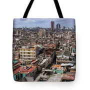 Irony Of Cuba Tote Bag
