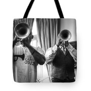 Irvin And Wynton Tote Bag