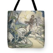 Irving: Sleepy Hollow, 1849 Tote Bag