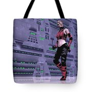 Is He Waving At Me? Tote Bag