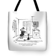 Is It Starve A Fever And Feed A Cat?  Or Feed Tote Bag