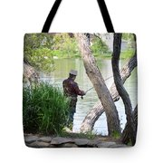 Is The Fisherman Real? Tote Bag