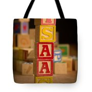 Isaac - Alphabet Blocks Tote Bag