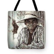 Isaan Rice Farmer Tote Bag