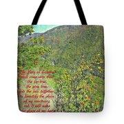 Isaiah 60 13 Tote Bag