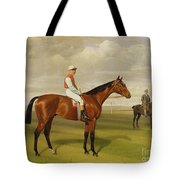 Isinglass Winner Of The 1893 Derby Tote Bag by Emil Adam
