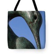 Isis Sculpture Front Tote Bag