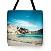 Isla Del Sol On The Titicaca Lake Tote Bag