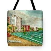 Isla Verde Beach San Juan Puerto Rico Tote Bag
