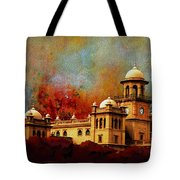 Islamia College Lahore Tote Bag by Catf