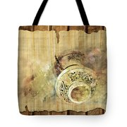 Islamic Calligraphy 037 Tote Bag by Catf