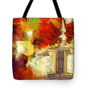 Islamic Painting 003 Tote Bag by Catf
