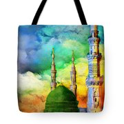 Islamic Painting 009 Tote Bag by Catf