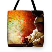 Islamic Painting 011 Tote Bag by Catf