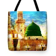 Islamic Paintings 005 Tote Bag by Catf