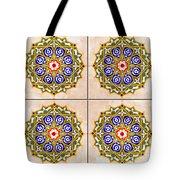 Islamic Tiles 03 Tote Bag