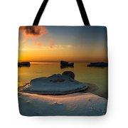 Island Burgs Tote Bag