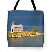 Island Church By The Sea Tote Bag by Brch Photography