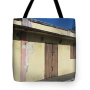 Island Decay Building Tote Bag