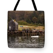 Island Fall Tote Bag