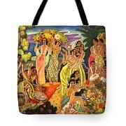 Island Feast Tote Bag