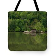 Island House On New River - West Virginia Tote Bag