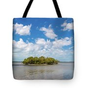 Island In A River, Ten Thousand Tote Bag