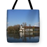 Island In The Lake Tote Bag