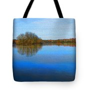 Island In The Pond Tote Bag
