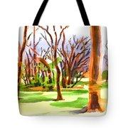 Island In The Wood Tote Bag